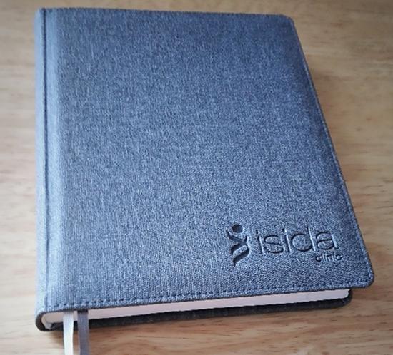 Ежедневник обложка под ткань