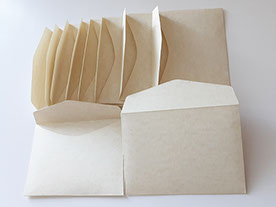 Конверты 78 х 108 мм. из дизайнерской бумаги