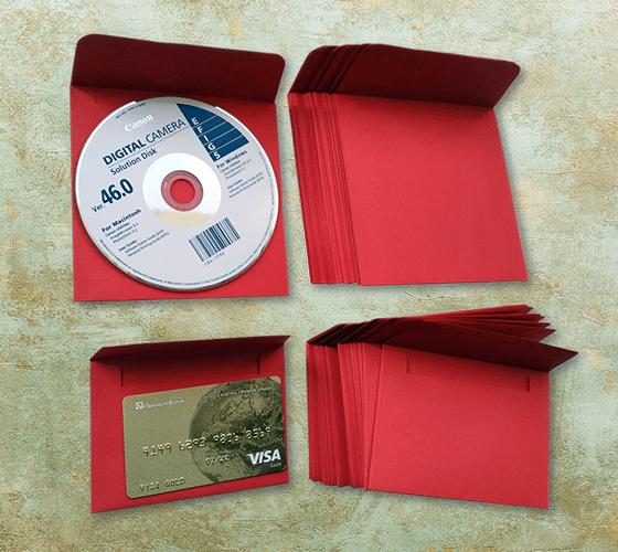 конверты для дисков 125х125 мм